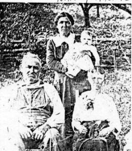 Ira, Nancy Minnie and Martha WALLEN ROBINETTE