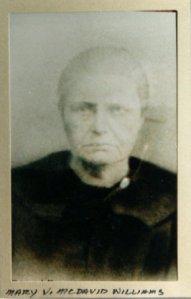 Mary V. McDAVID WILLIAMS