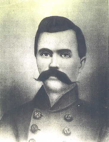 Lt. Amos Miller FLEENOR, CSA
