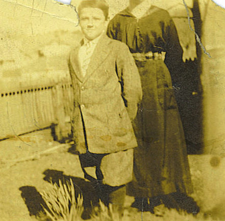 Charles Dorton MARRS at ten years old