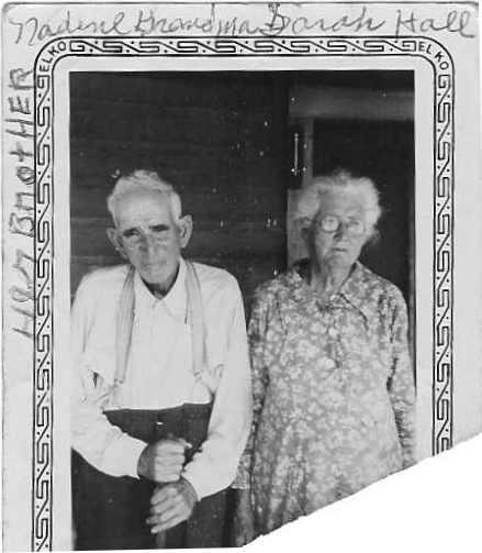 Sarah F. JONES HALL & Her Brother