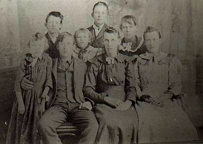 "Sarah Jane ""BARNETT"" MALICOAT & Family"