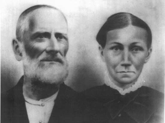 """John Hickam """"Long John"""" Hilton & Martha Ann Agee"""