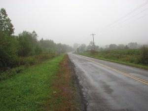 Looking east on Cuyler Lincklaen Rd (CR 12C/CR 152A)