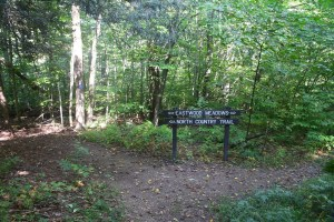 Signpost north of ASP 1