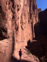 Fisher Towers. Next time the goal is to be on top.