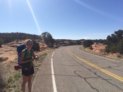 Hiked on a road? Check.