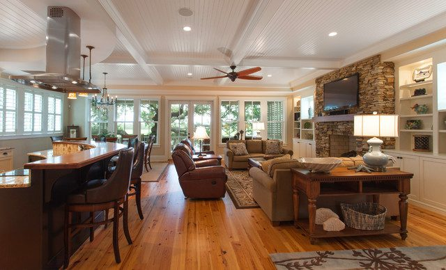 Open Floor Plan Kitchen: How To Plan It Correctly