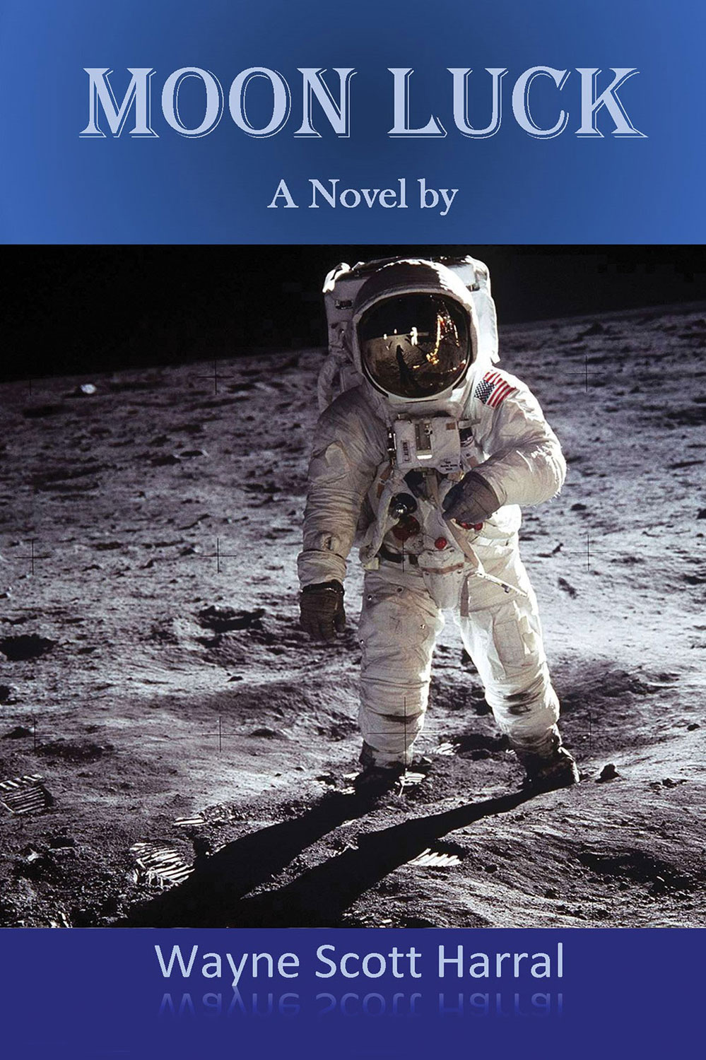 Story of astronauts living on the moon