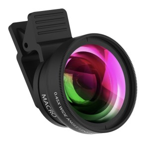 Clip-on Macro Camera Lens for iPhone or Android Smartphones