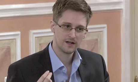 American whistleblower Edward Snowden courtesy of The Guardian