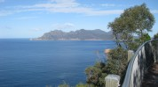 Looking back on Wineglass Bay