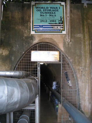 WWII Oil storage tunnels