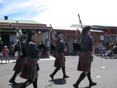 Can't beat a Scottish pipe band!