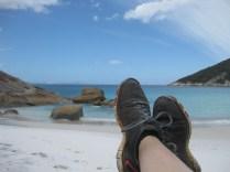 Little Feet do little beach