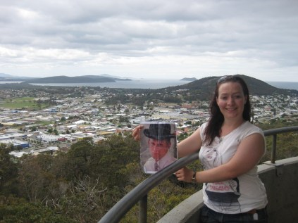 George in Albany at Mt Melville Lookout