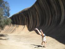 Cartwheel waves!