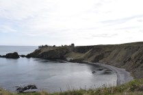View of Dunnottar from the coastal walk