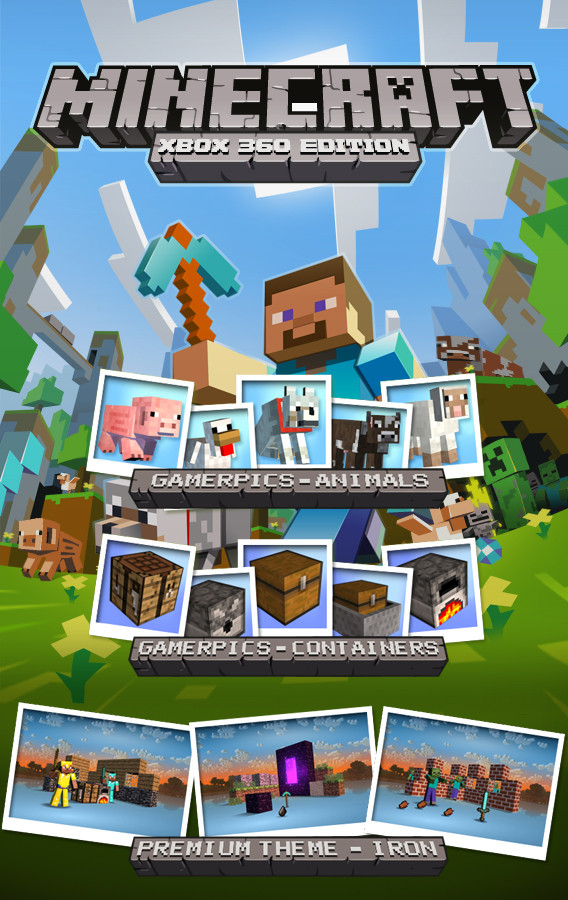 Minecraft For Xbox 360 - Made In Scotland (1/4)