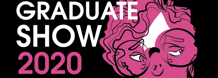 Promotional poster for the Abertay Digital Graduate Show 2020