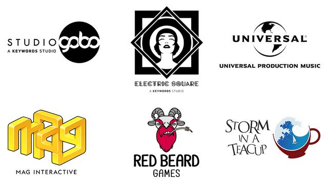 Game Parade 2020: Judges logos