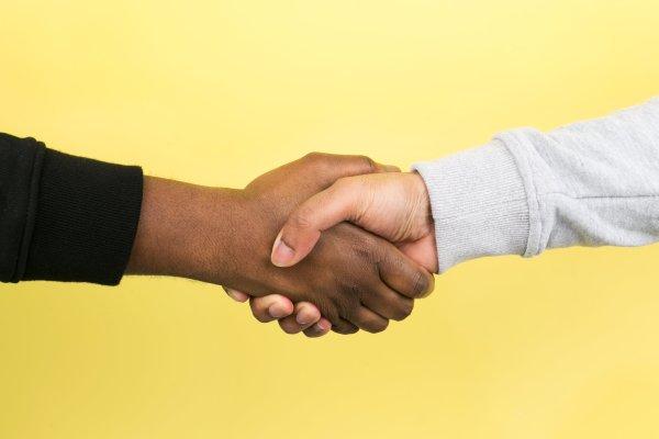 Game Gurus. Handshake