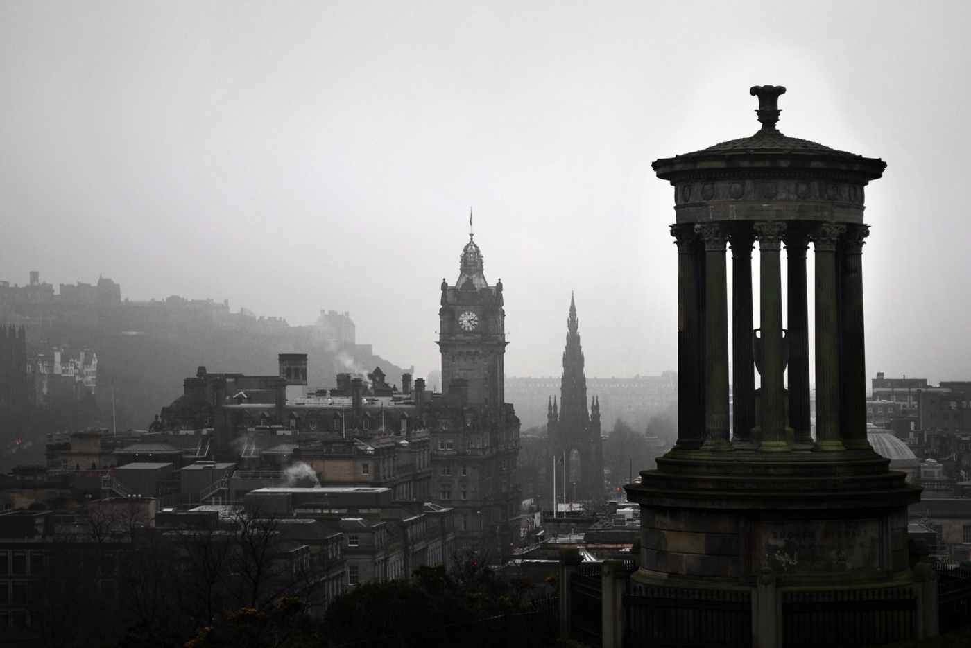 Edinburgh. Calton Hill. Scottish Parliamentary Culture Committee