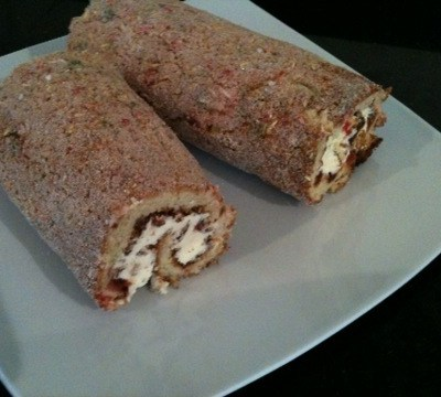 Jam and Cream Roulade (Roly Poly) – No Oil or Fat – Modify for Dairy / Lactose Free