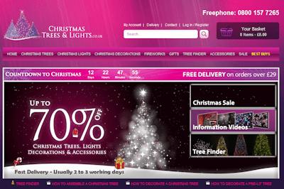 Christmas Twinkling Tree Lights