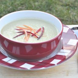Soup Maker Recipe:  Soya Bean and Onion Soup