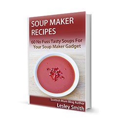 Soup Maker Recipes Kindle E-Book – 60 Soupmaker Recipes by Moi, on Amazon now…