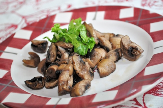 Actifry Recipe - Garlic Mushrooms