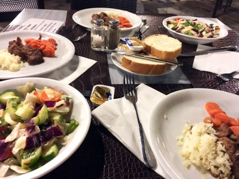 Anastasia Hotel Stalis Crete Welcome Meal