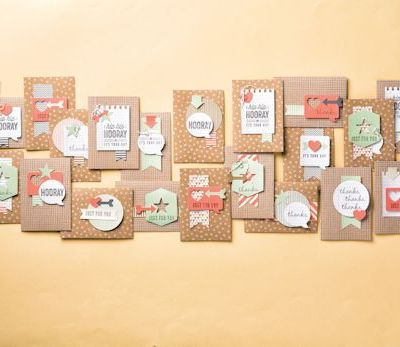 Giveaway:  Every Day Card Kits from Stampin Up – Ends 10th November at Midnight