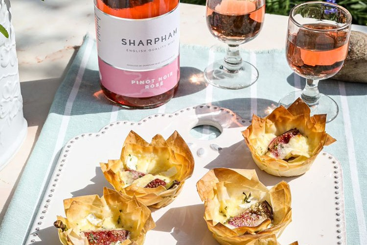 Brie and Fig Parcels by James Strawbridge