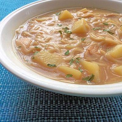 Soup Maker Recipe:  Budget Chicken Noodle Soup