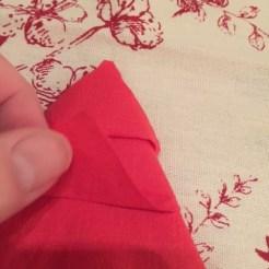 Christmas Tree Napkin Fold 17