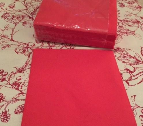 Christmas Tree Napkin Fold 3