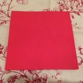 Christmas Tree Napkin Fold 4