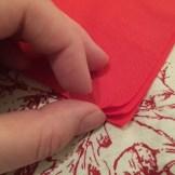Christmas Tree Napkin Fold 6