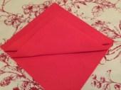 Christmas Tree Napkin Fold 9