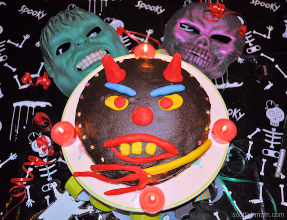 Nigella Lawson Recipe with a Halloween Twist – Devils Food Cake