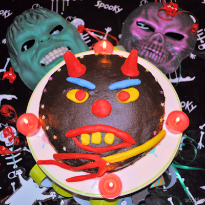 Halloween Devils Food Cake Recipe