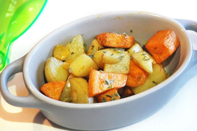Garlic Infused Mixed Potatoes 10002