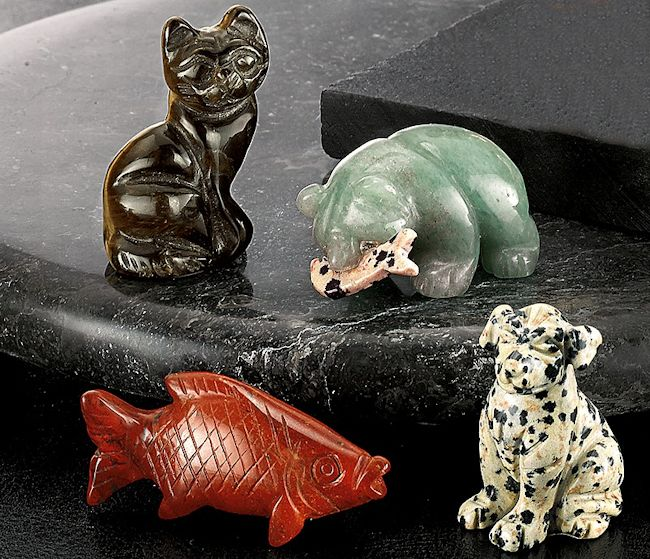 Gemstone Animals