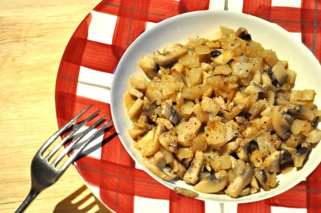Honey Glazed Mushroom & Onion Topping