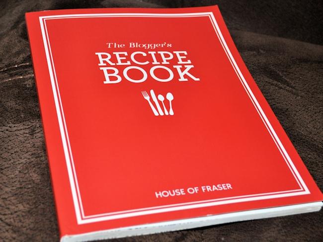 House of Fraser Blogger Recipe Book 1