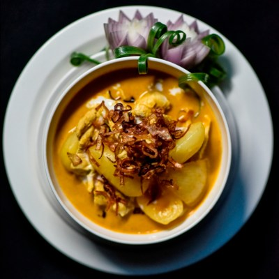 Authentic Massaman Thai Curry Recipe from Chef Sanguan Parr at Nipa Thai
