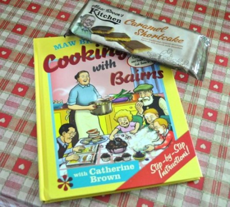 Maw Broons Caramel Shortcake and Cooking With Children