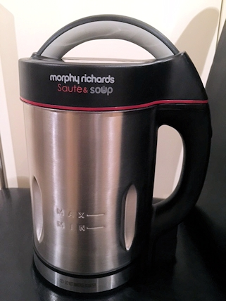Review: Morphy Richards Saute and Soup Maker